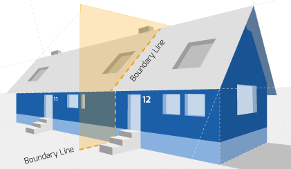 Party Wall illustration for Wolverhampton Surveyors
